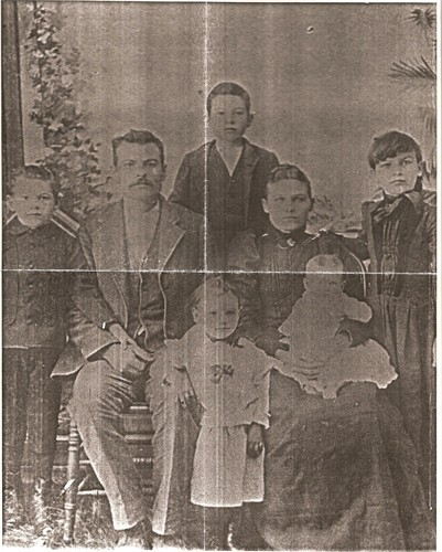 John Columbus Rogers and Family