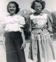 Juanita Montoya (on the left) with unidentified friend.  This looks to be shortly before the time of her death.