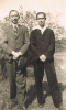 Wolfgang Geier (on the right) with unidentified friend